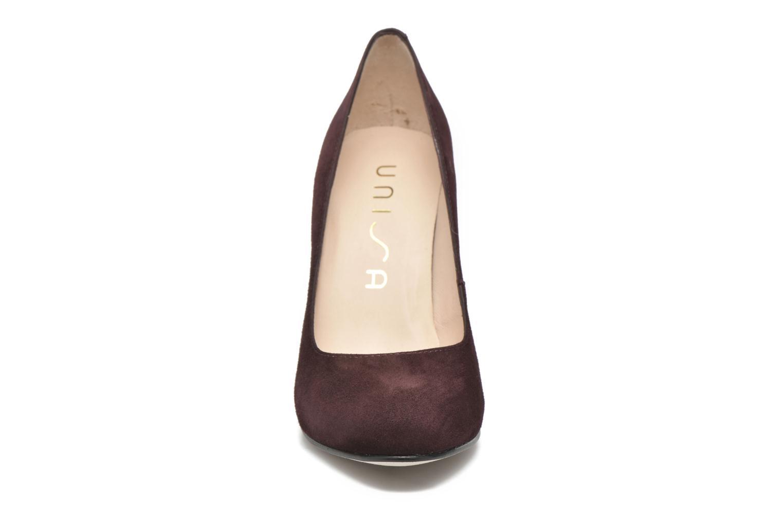 High heels Unisa Patric Burgundy model view