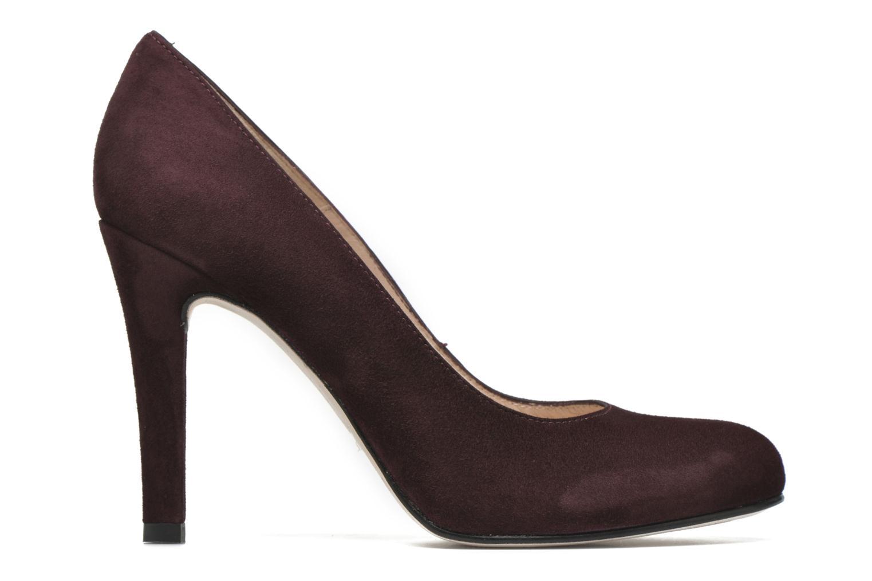 High heels Unisa Patric Burgundy back view