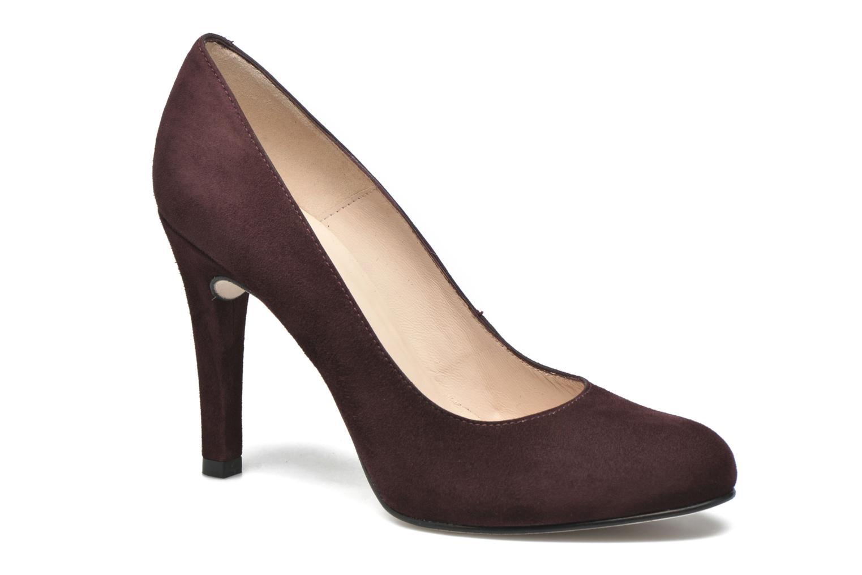 High heels Unisa Patric Burgundy detailed view/ Pair view