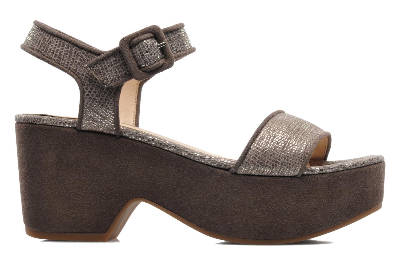 Sandali e scarpe aperte Unisa Nefer Beige immagine posteriore