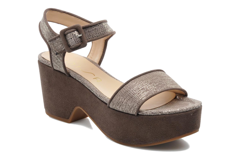 Sandales et nu-pieds Unisa Nefer Beige vue détail/paire