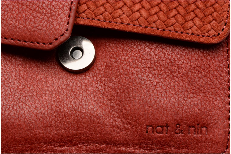 Handtaschen Nat & Nin Esther rot ansicht von links