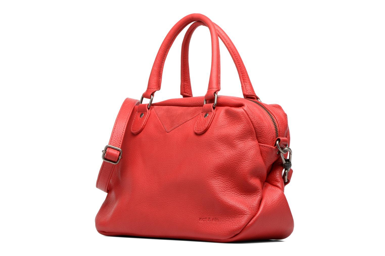 Bolsos de mano Nat & Nin Heleen Rojo vista del modelo