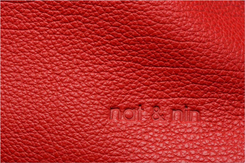 Bolsos de mano Nat & Nin Heleen Rojo vista lateral izquierda
