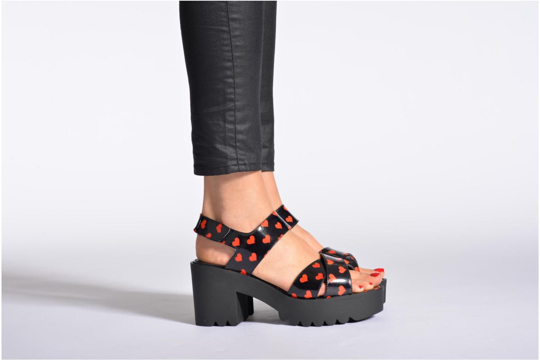 Sandales et nu-pieds Buffalo Britt Multicolore vue bas / vue portée sac