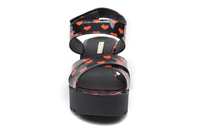 Sandales et nu-pieds Buffalo Britt Multicolore vue portées chaussures