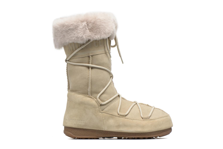 Stiefeletten & Boots Moon Boot Vagabond High beige ansicht von hinten