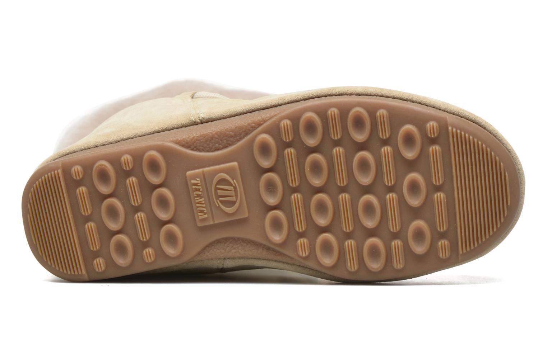 Stiefeletten & Boots Moon Boot Vagabond High beige ansicht von oben