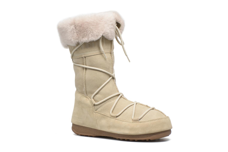 Stiefeletten & Boots Moon Boot Vagabond High beige detaillierte ansicht/modell