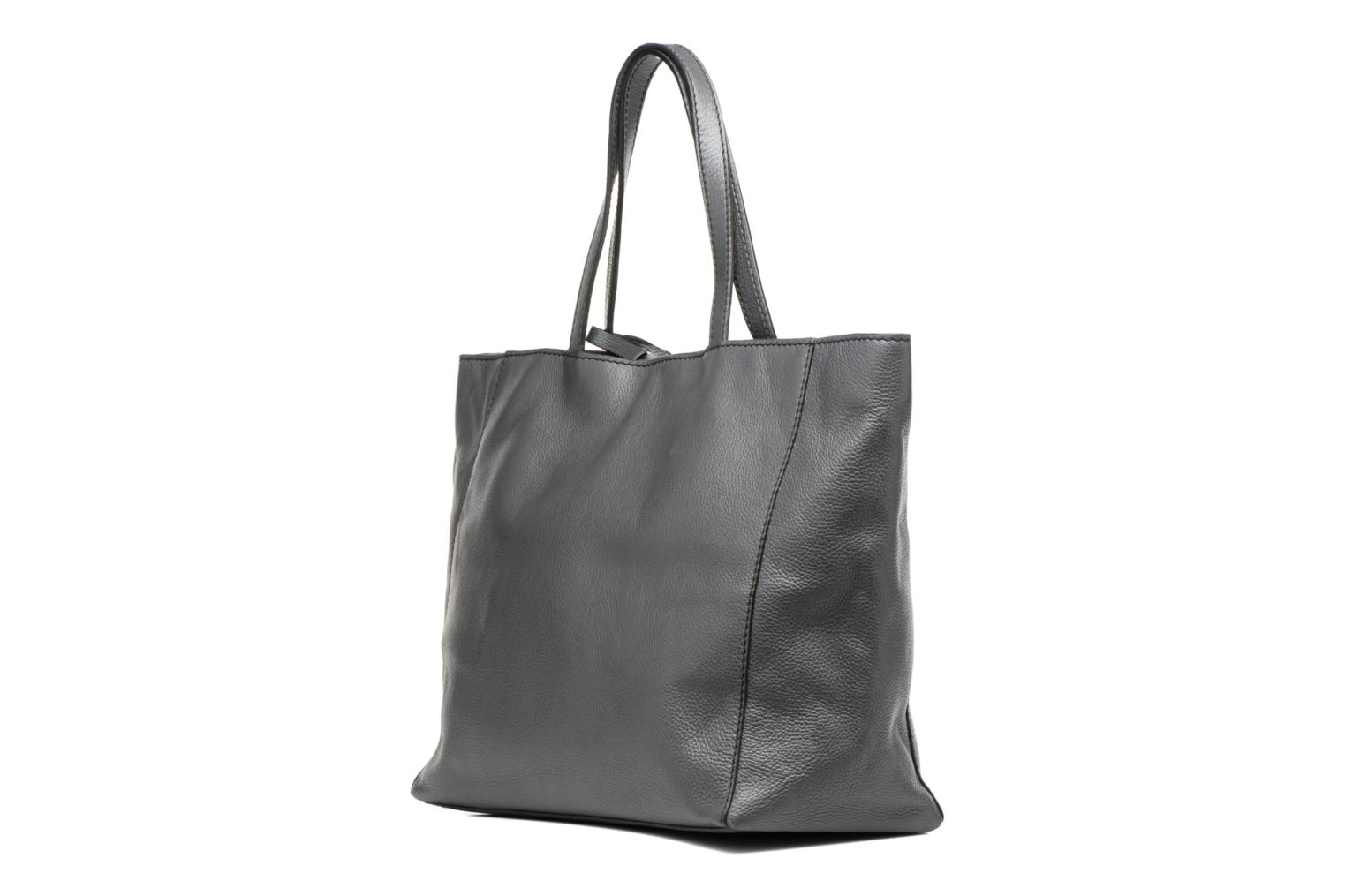 Handbags Loxwood Cabas Parisien GM Grey view from the right