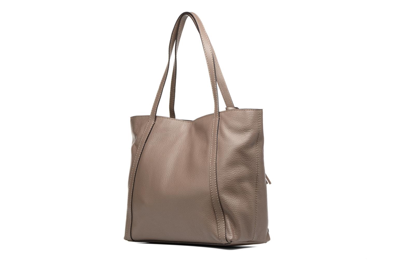 Handtaschen Loxwood Shopper Marilou beige ansicht von rechts