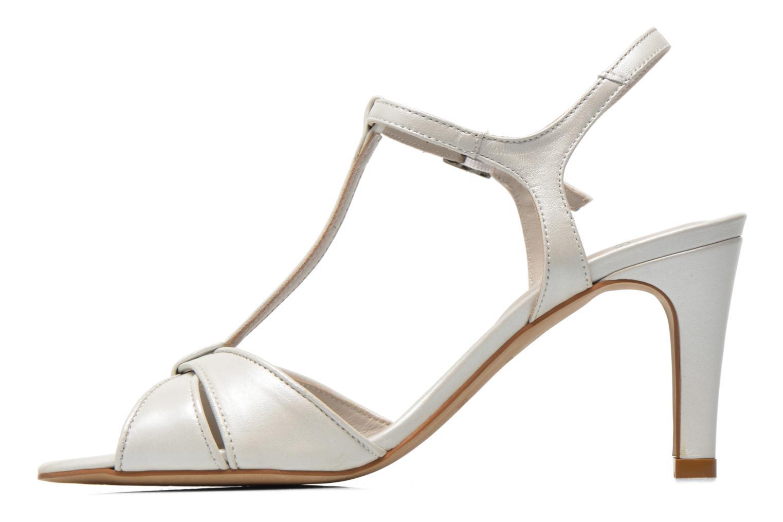Sandales et nu-pieds Perlato Parvine Blanc vue face