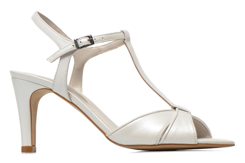 Sandales et nu-pieds Perlato Parvine Blanc vue derrière