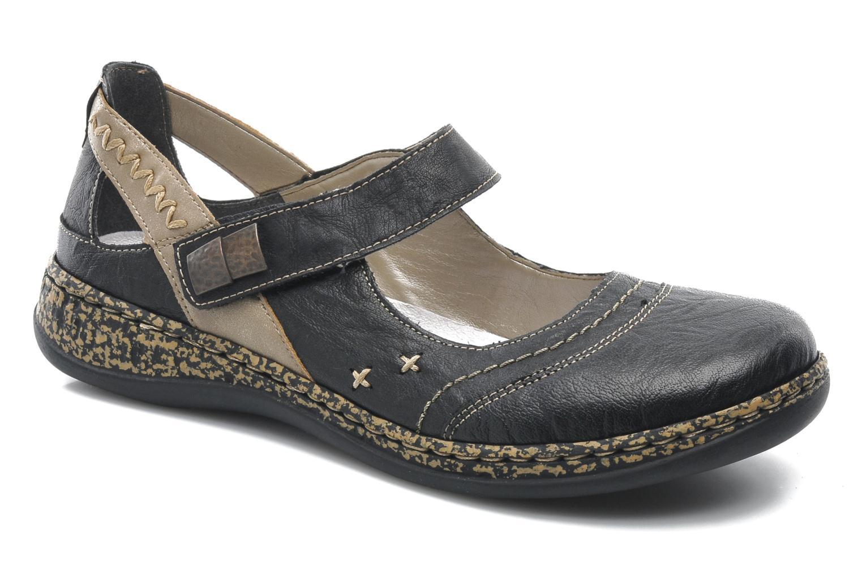Zapatos promocionales Rieker Alia 46378 (Negro) - Bailarinas   Los últimos zapatos de descuento para hombres y mujeres