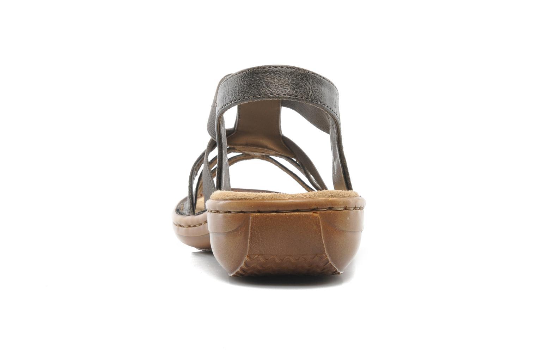 Sandales et nu-pieds Rieker Barock 60841 Marron vue droite