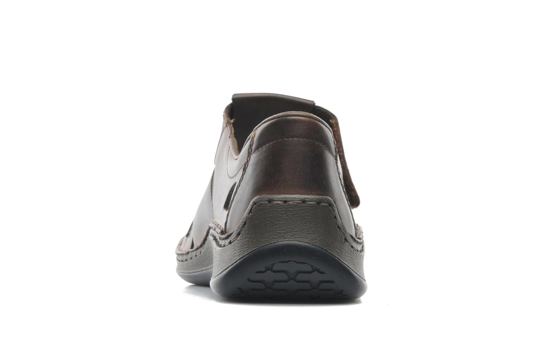 Sandales et nu-pieds Rieker Barry 05275 Marron vue droite