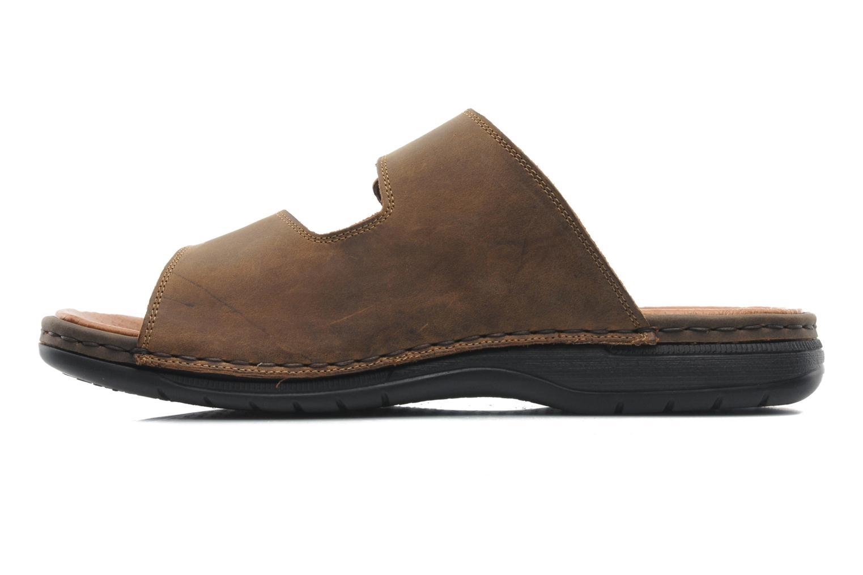 Sandales et nu-pieds Rieker Ron 25592 Marron vue face