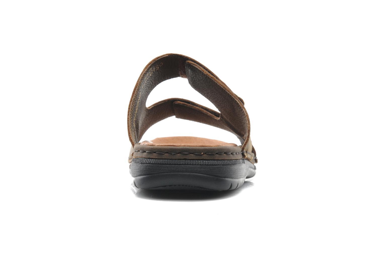 Sandales et nu-pieds Rieker Ron 25592 Marron vue droite