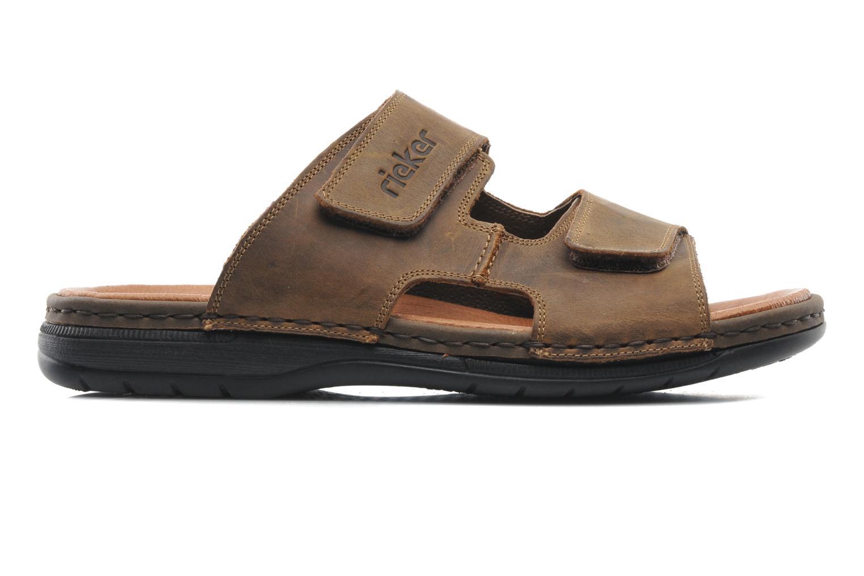 Sandales et nu-pieds Rieker Ron 25592 Marron vue derrière