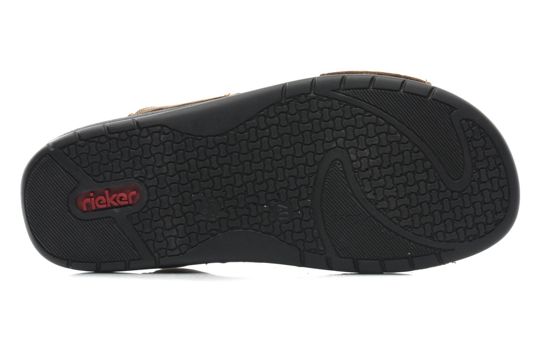 Sandales et nu-pieds Rieker Ron 25592 Marron vue haut