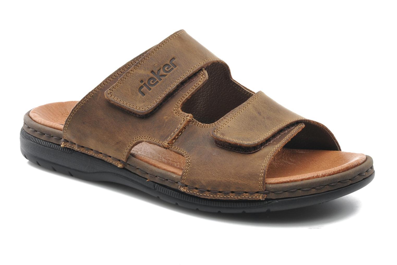 Sandales et nu-pieds Rieker Ron 25592 Marron vue détail/paire