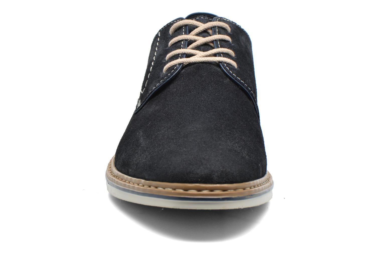 Chaussures à lacets Rieker Brutus 1422 Bleu vue portées chaussures