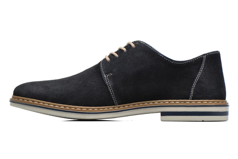 Chaussures à lacets Rieker Brutus 1422 Bleu vue face