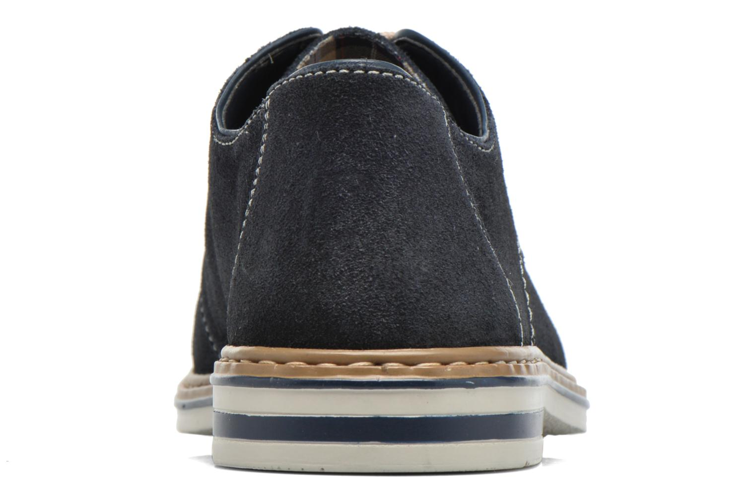 Lace-up shoes Rieker Brutus 1422 Blue view from the right