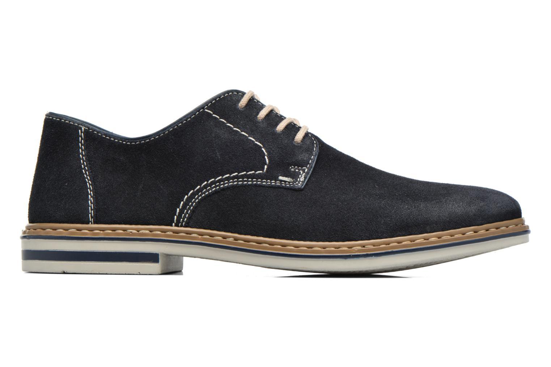 Chaussures à lacets Rieker Brutus 1422 Bleu vue derrière