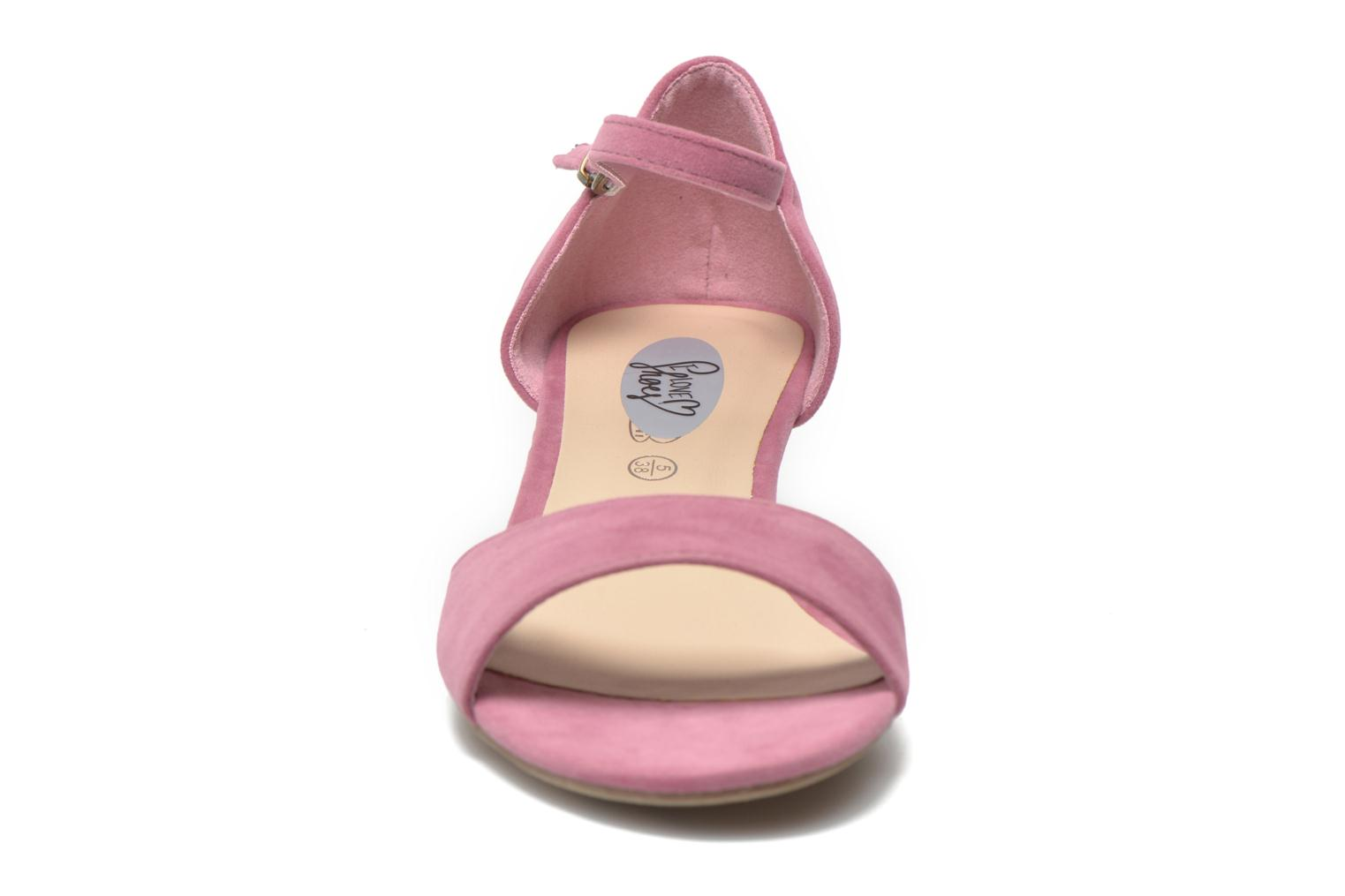 Sandals I Love Shoes Kivito Pink model view