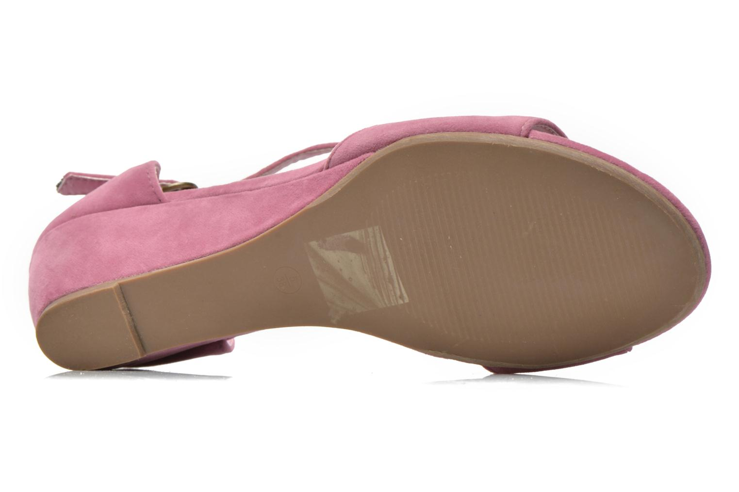 Sandals I Love Shoes Kivito Pink view from above