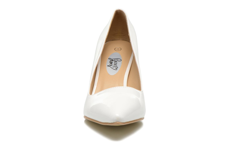 Escarpins I Love Shoes Kivari Blanc vue portées chaussures