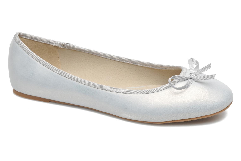 Ballerinaer Elizabeth Stuart Castel 691 Sølv detaljeret billede af skoene