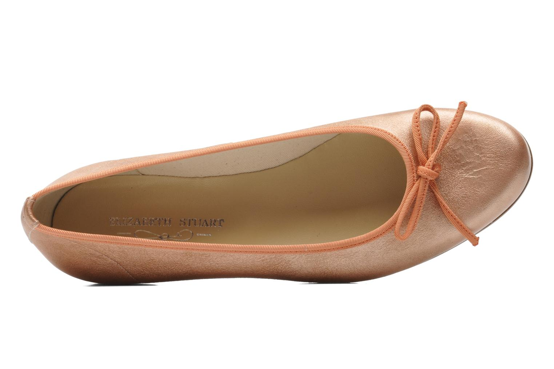 Bailarinas Elizabeth Stuart Josy 371 Naranja vista lateral izquierda