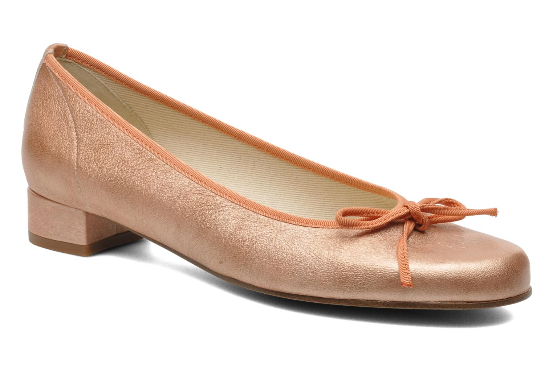 Bailarinas Elizabeth Stuart Josy 371 Naranja vista de detalle / par