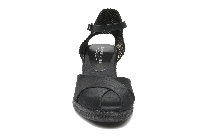 Sandales et nu-pieds Elizabeth Stuart Trento 604 Noir vue portées chaussures