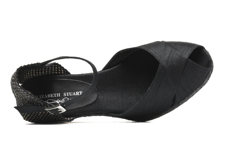 Sandalias Elizabeth Stuart Trento 604 Negro vista lateral izquierda