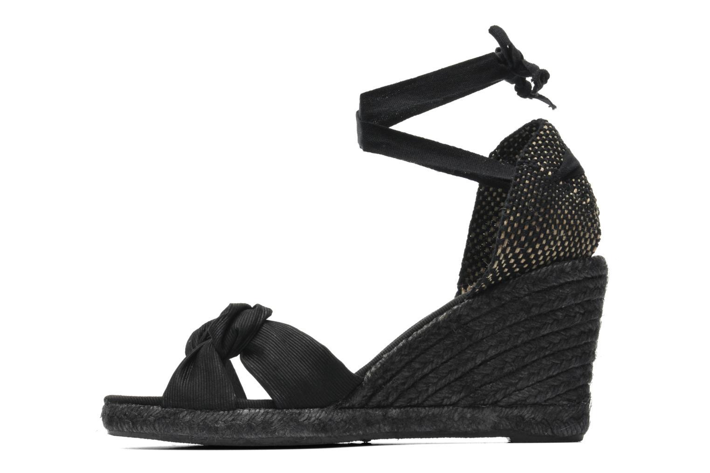 Sandalen Elizabeth Stuart Riam 605 schwarz ansicht von vorne