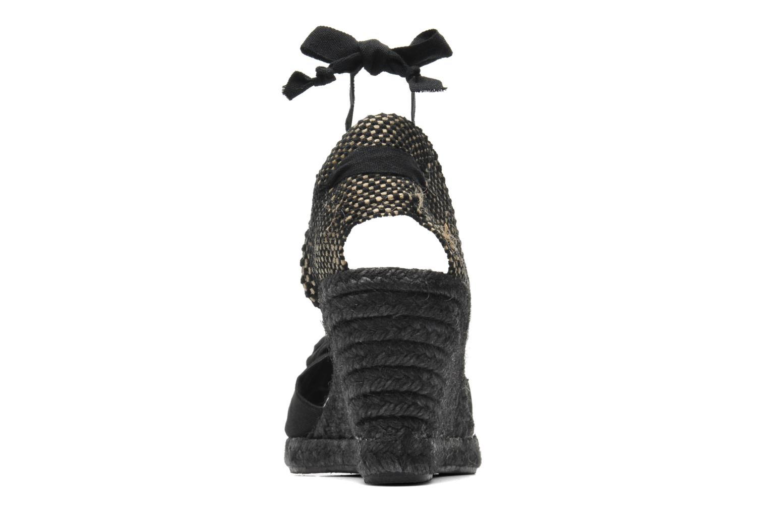 Sandals Elizabeth Stuart Riam 605 Black view from the right