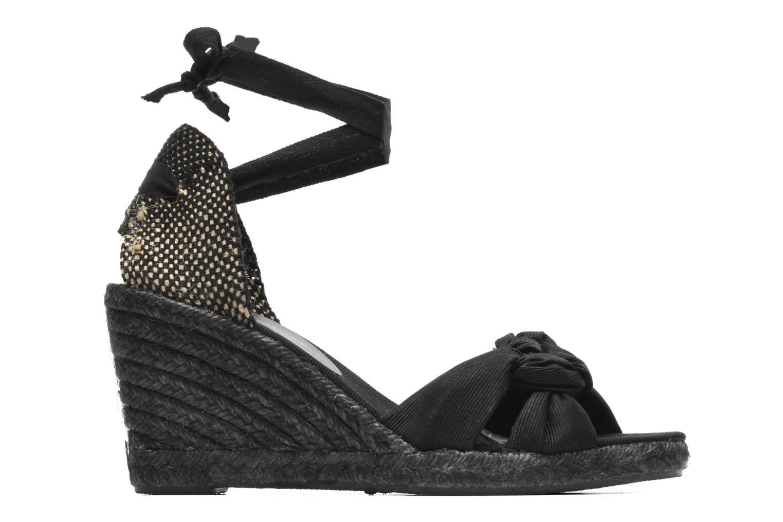 Sandalen Elizabeth Stuart Riam 605 schwarz ansicht von hinten