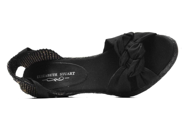 Sandalen Elizabeth Stuart Riam 605 Zwart links