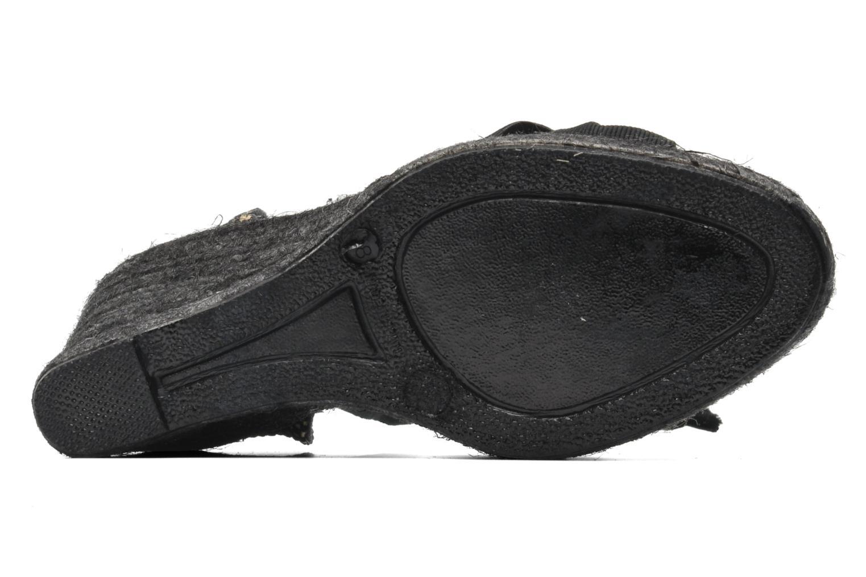 Sandalen Elizabeth Stuart Riam 605 schwarz ansicht von oben