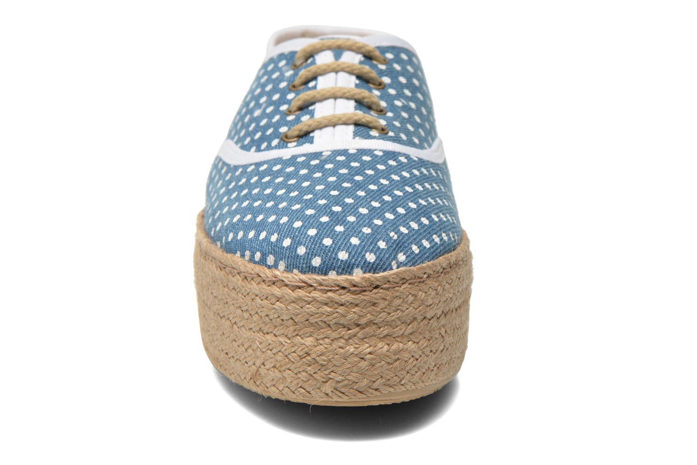 Scarpe di corda Ippon Vintage Nami Sun Azzurro modello indossato