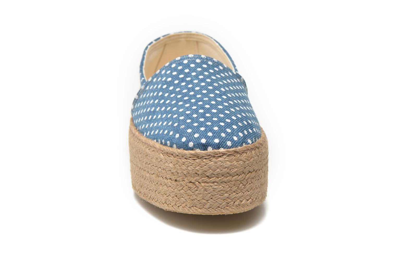 Scarpe di corda Ippon Vintage Nami beach Azzurro modello indossato