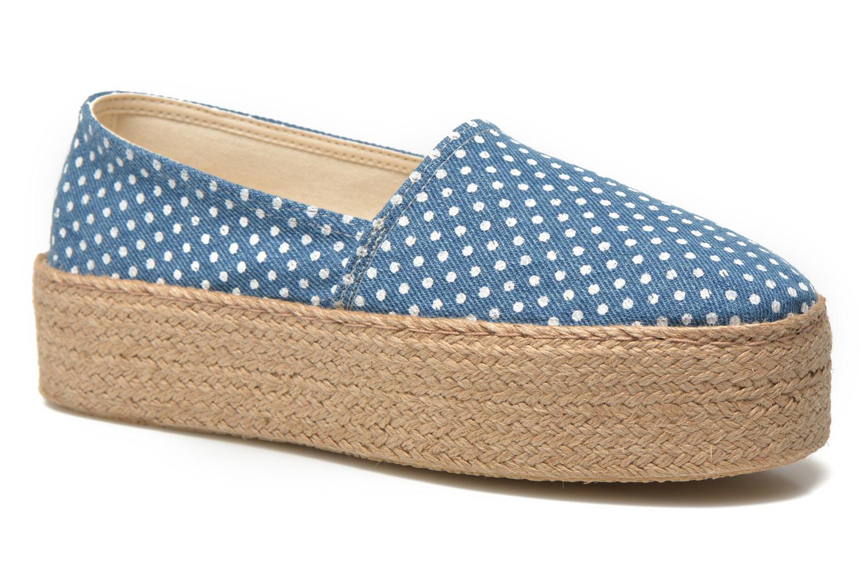 Espadrillos Ippon Vintage Nami beach Blå detaljeret billede af skoene