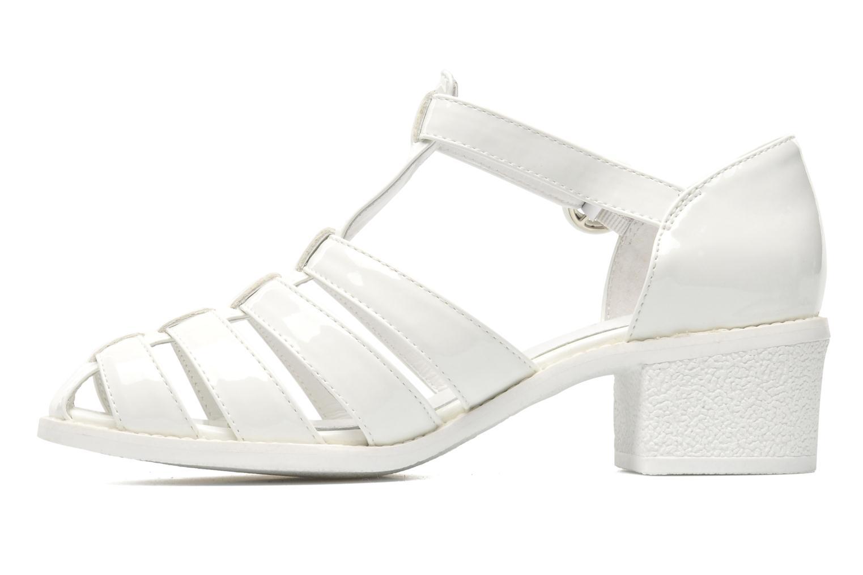 Sandales et nu-pieds Mellow Yellow Sadia Blanc vue face
