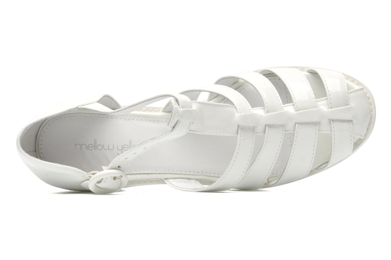 Sandales et nu-pieds Mellow Yellow Sadia Blanc vue gauche