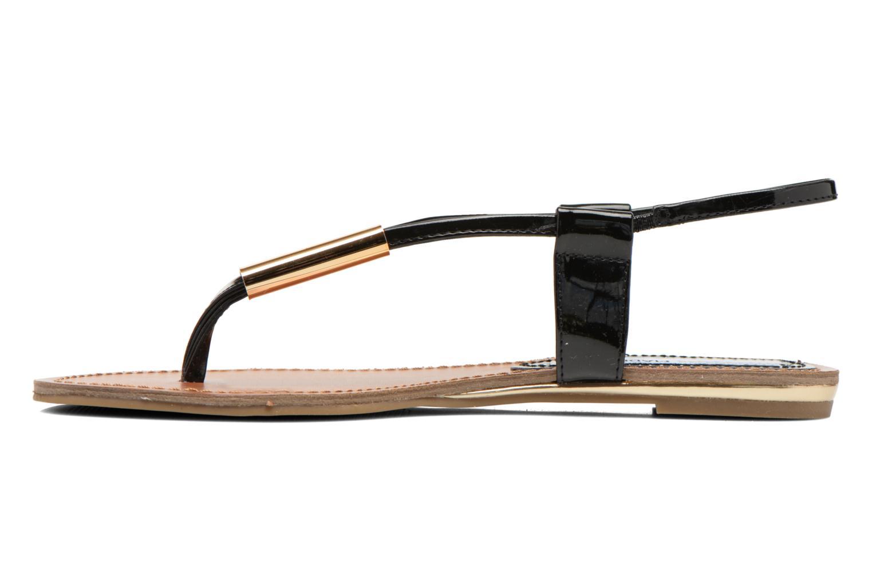 Sandales et nu-pieds Steve Madden Hamil Noir vue face