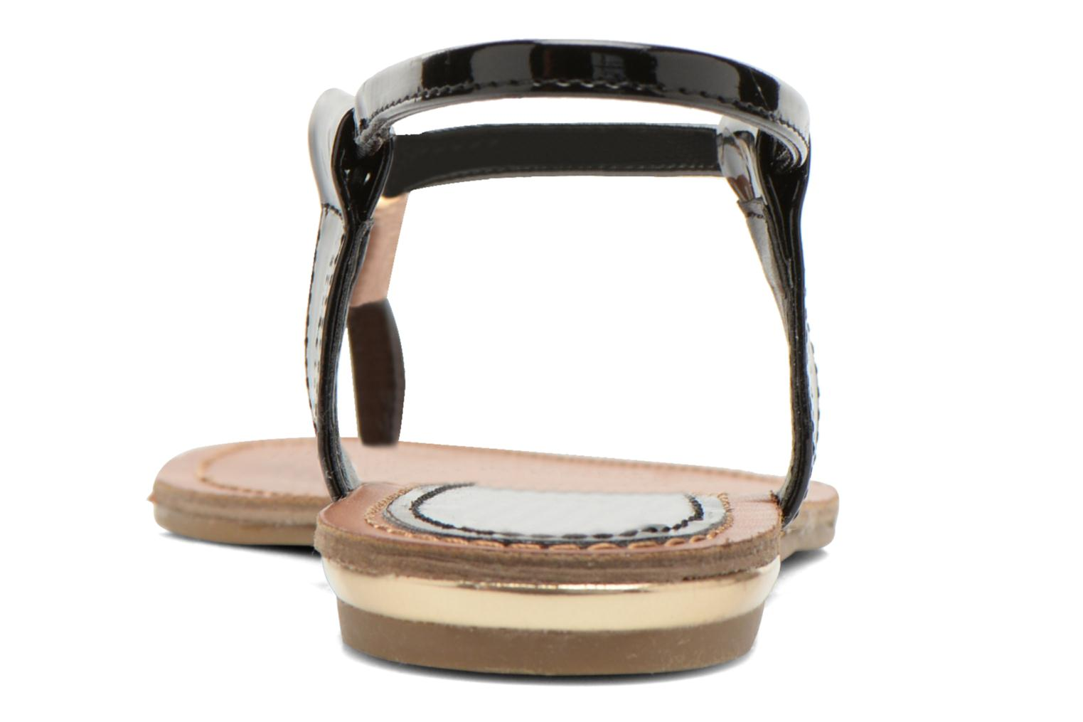 Sandals Steve Madden Hamil Black view from the right