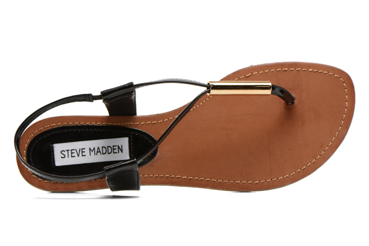 Sandals Steve Madden Hamil Black view from the left